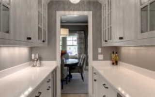 Как оклеить кухню с коридором
