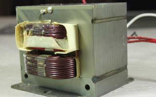 Как проверить высоковольтный трансформатор микроволновой печи
