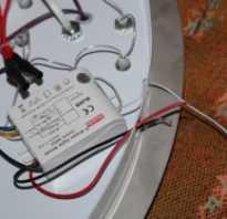 Как отремонтировать потолочный светодиодный светильник