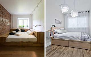 Как поклеить узкую спальню