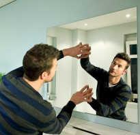 Как повешать зеркало в ванной