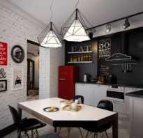Как обустроить кухню столовую