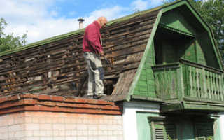 Как отремонтировать крышу на стыке
