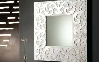 Как приделать зеркало к стене