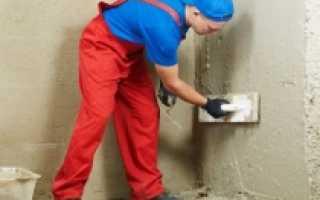 Как приготовить цементно песчаный раствор для штукатурки
