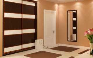 Как оформить встроенный шкаф в коридоре