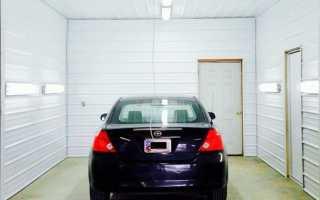 Как расположить свет в гараже