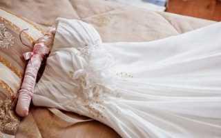 Как постирать подол платья