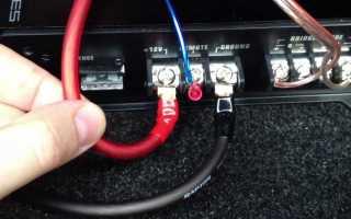 Как правильно подключить межблочный кабель к усилителю