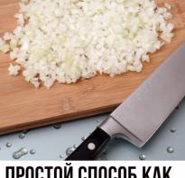 Как правильно порезать лук