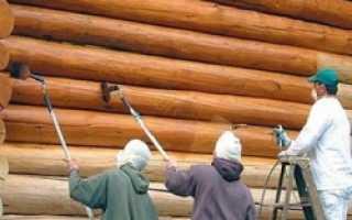 Как правильно красить деревянный дом снаружи