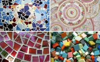 Как правильно класть плитку мозаику на стену