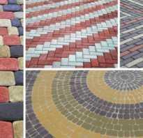Как правильно ложится тротуарная плитка