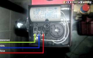 Как правильно подключить водяной насос к электричеству