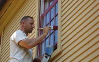 Как покрасить деревянные рамы окон