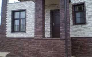 Как обшить цокольными панелями дом