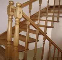 Как прикрепить балясины к лестнице