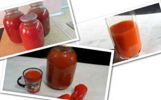 Как просто сделать томатный сок
