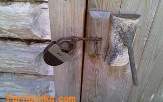Как построить дверь в баню