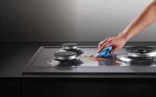 Как очистить плиту от старого жира