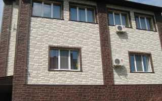 Как обшить дом фасадными панелями видео