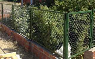 Как построить капитальный забор