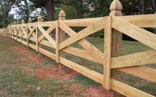 Как правильно поставить забор между соседями