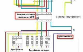 Как подключить трехфазную розетку к сети 220