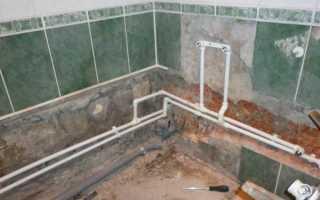 Как правильно сделать разводку воды в ванной