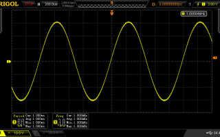 Как померить частоту осциллографом