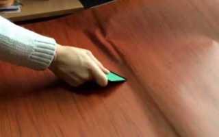 Как правильно обклеивать пленкой мебель