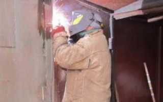 Как правильно сварить ворота для гаража