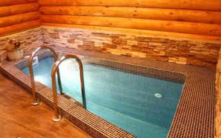 Как построить бассейн в сауне