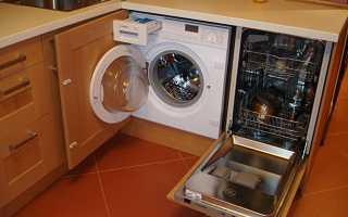 Как подключить посудомоечную и стиральную машину одновременно