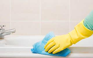 Как отмыть ванну от ржавчины в домашних