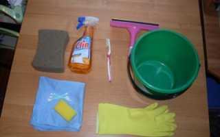 Как помыть окна без разводов на балконе