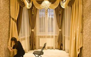 Как правильно подшить ночные шторы