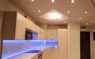 Как правильно выбрать светильники для натяжного потолка