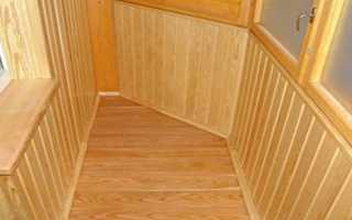 Как постелить деревянный пол на балконе