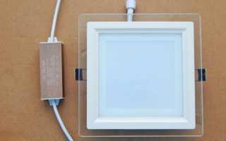 Как подключить лед светильник