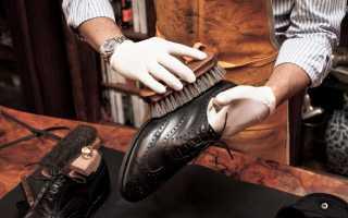 Как почистить ботинки изнутри