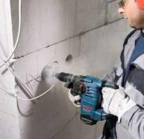 Как правильно штробить стену под проводку перфоратором