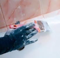 Как подготовить ванну к покраске эмалью