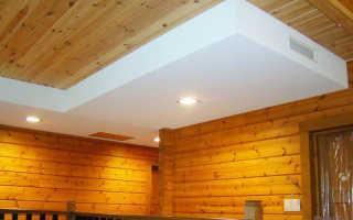 Как отделать низкие потолки в доме