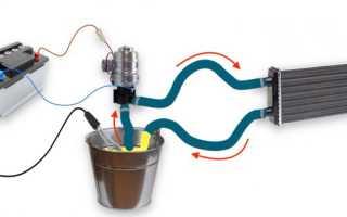 Как правильно подключить радиатор печки