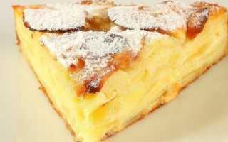 Как приготовить пирог с яблоками рецепт