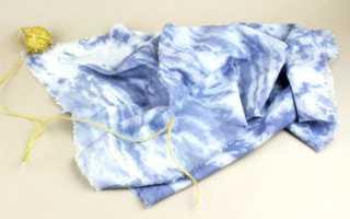 Как покрасить чернилами ткань