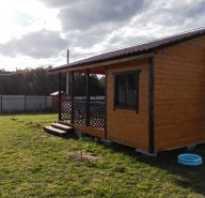 Как построить дом на даче недорого