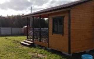 Как построить дёшево домик на даче