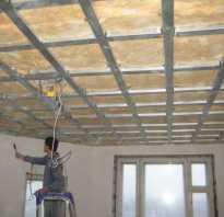 Как правильно крепить подвесной потолок